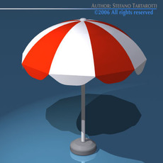 Sun umbrella 3D Model