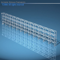 Depot single shelves 3D Model