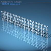 Depot single shelves 3D Model