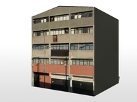 Old Warehouse 3D Model