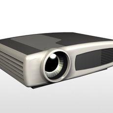 Video Proyector 3D Model
