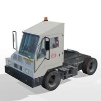 Port Tractor 3D Model
