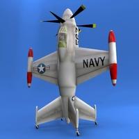 XVF-1 Salmon 3D Model