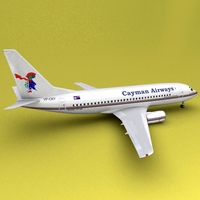 Boeing 737 Cayman Airways 3D Model