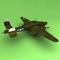 B-25J 3D Model