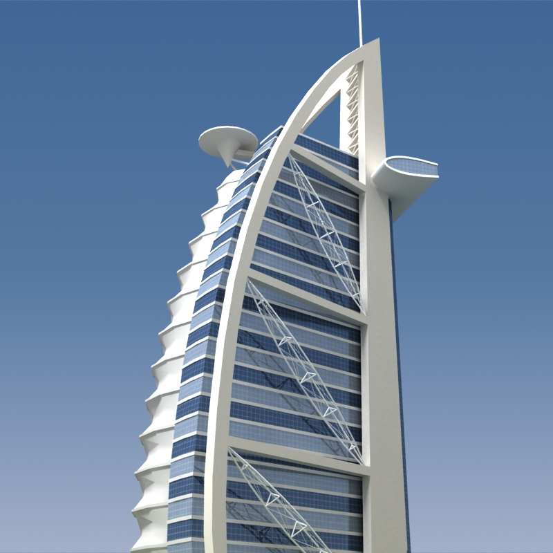 Burj Al Arab 3d Model