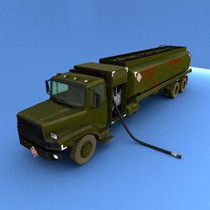 Refuler Truck 3D Model