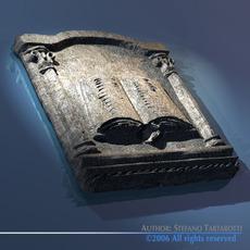 Antique tiles 3D Model
