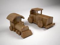 Wood Toys 3D Model
