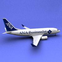 Boeing 737 ANA 3D Model