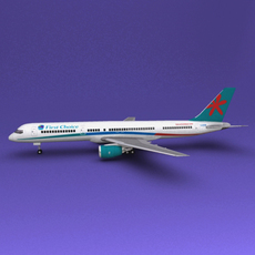 Boeing 757 First Choice 3D Model