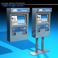Ticket dispenser 3D Model