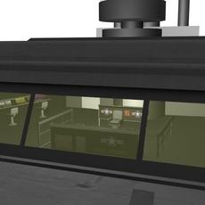 CV-51, USS Roswell, Command Cruiser 3D Model