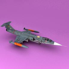 F-104 3D Model