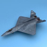 YF-23 3D Model