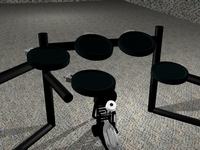 Drums 3D Model