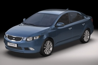 2010 Kia Forte 3D Model