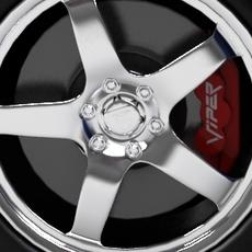 Dodge Viper Srt10 3D Model