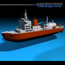 Icebreaker 3D Model
