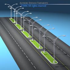 Roads set2 3D Model