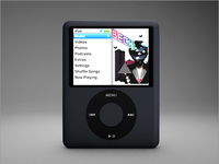 iPodClassic 3D Model