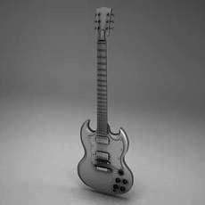 GibsonSG 3D Model