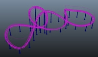 Duplicate Along Curve 1.4.4 for Maya (maya script)