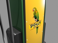 Wayne Model 60 Gas Pump 3D Model