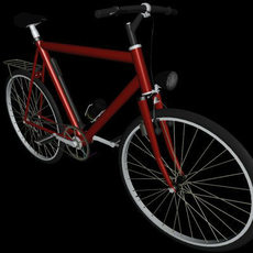 Smart Bicycle 3D Model