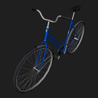 Classic Bicycle 3D Model