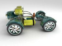 Concept Car 3D Model