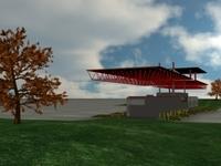 Guard Shack 3D Model