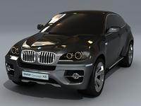 BMW X6 concept 3D Model
