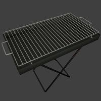Smart grill 3D Model