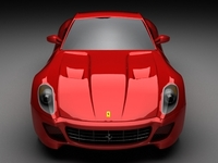 Ferrari 599 Fiorano 3D Model