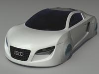 Audi RSQ 3D Model