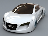 Audi collection 3D Model