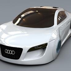 Audi collection 3D Model