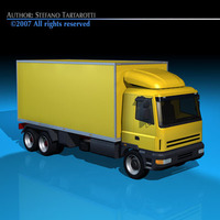 Truck2 3D Model