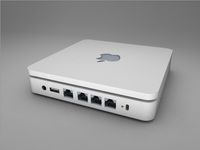 Apple Airport Extreme 3D Model