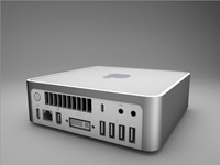 Apple Mac Mini 3D Model