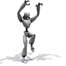 Robot 3 3D Model