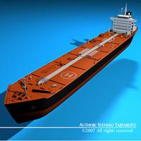 Tankership 3D Model