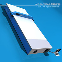 Cutting table 3D Model