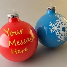 Christmas Bulb 3D Model