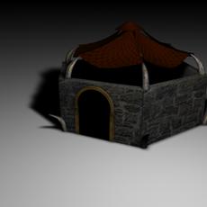 Orc Hut 3D Model