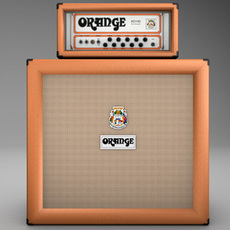 Orange AD140 Amp Half Stack 3D Model