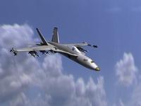 F18 3D Model