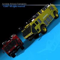 Airport firetruck 3D Model