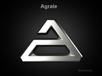 Agrale 3d Logo 3D Model